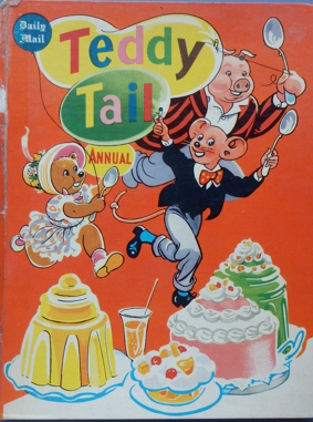 Teddy Tail Annual 1956 Front Cover