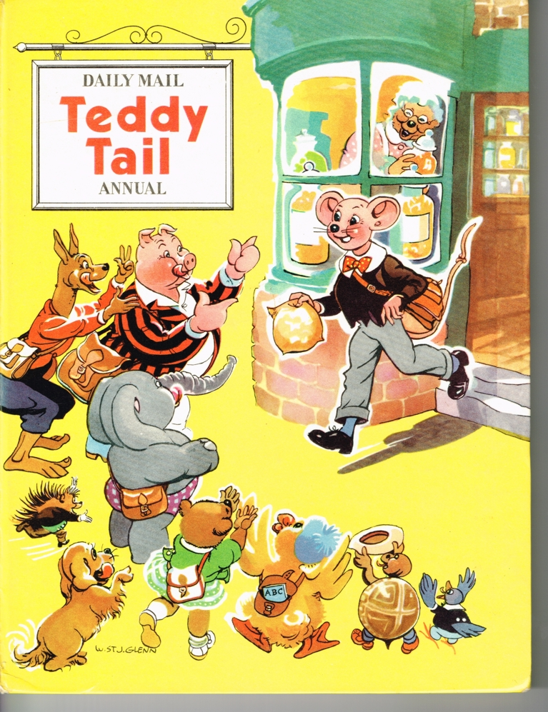 Teddy Tail comes from the sweetshop to the delight of his friends